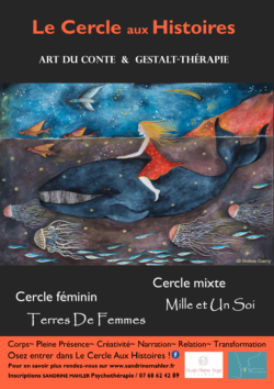 illustration dessin baleine affiche cercle aus histoires